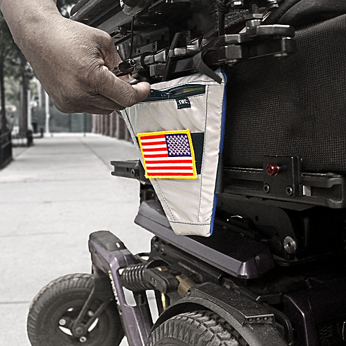 Motorized Wheelchair Bag by Every Wheel Carry