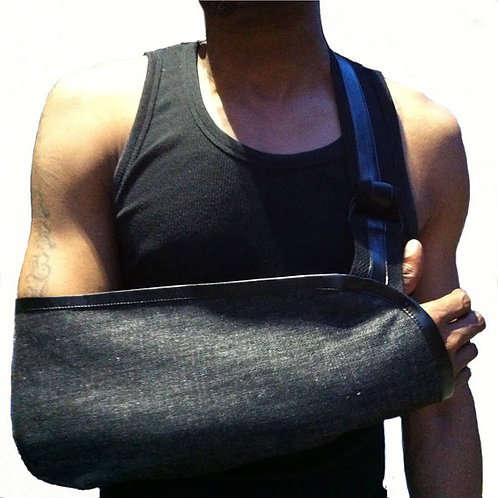 Durable Denim Mens Arm Sling by Not Blue Designs