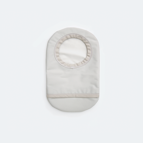 Light Gray Ostomy Cover by Spoonie Threads