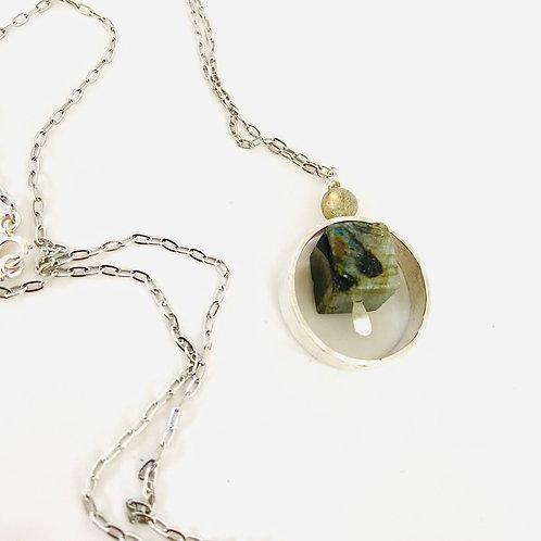 Manhatten Fidget Necklace by Lux + Luca Jewelry Co