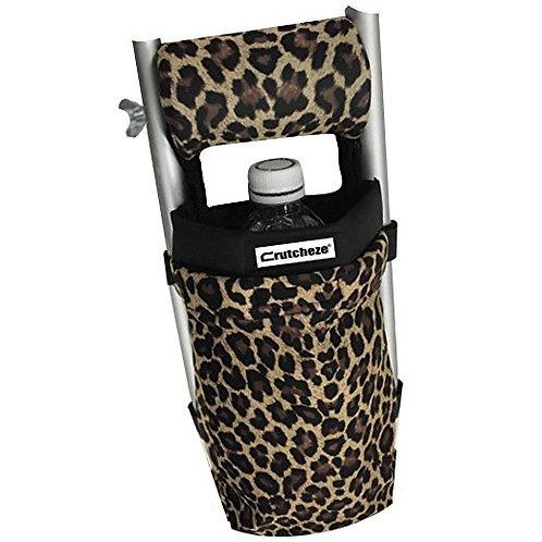 Leopard Crutch Bag by Crutcheze