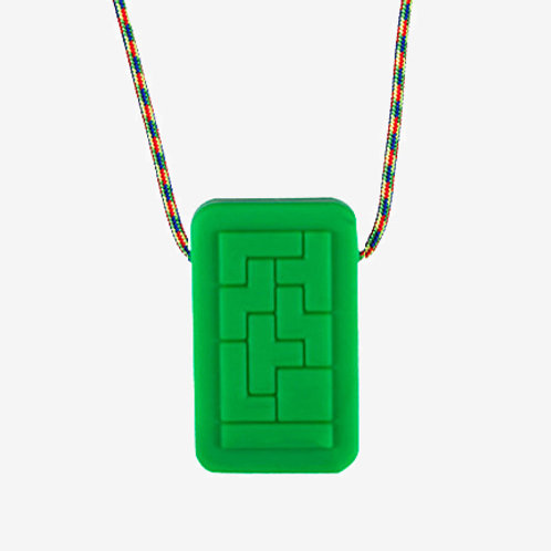 Geo Tags Chewelry Necklace by Chewigem