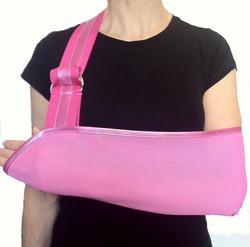 Pretty in Pink Arm Slings