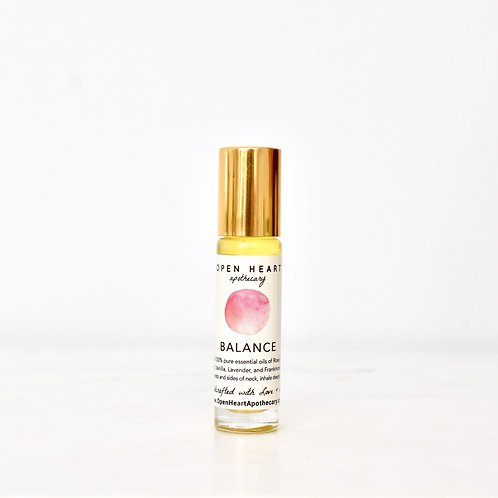 Balance Essential Oil Roll On by Open Heart Apothecary