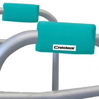 Turquoise Walker Padded Handgrips by Crutcheze