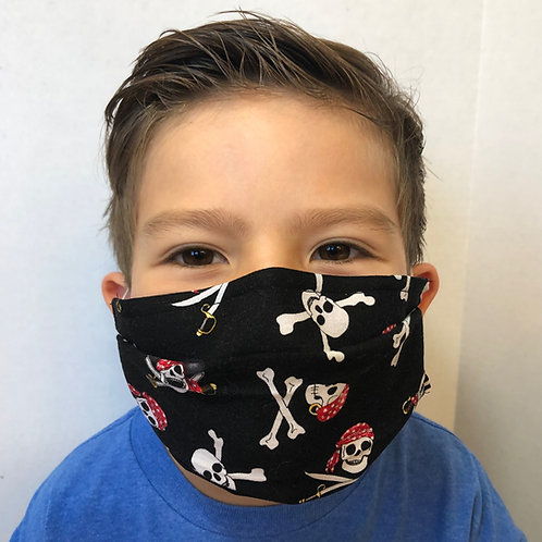 Kids Mask with Pocket for Filter by Crafty MerMade