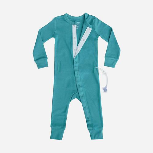 G-Tube Pajamas Feeding Tube + Catheter Access Long Sleeve by Spoonie Threads