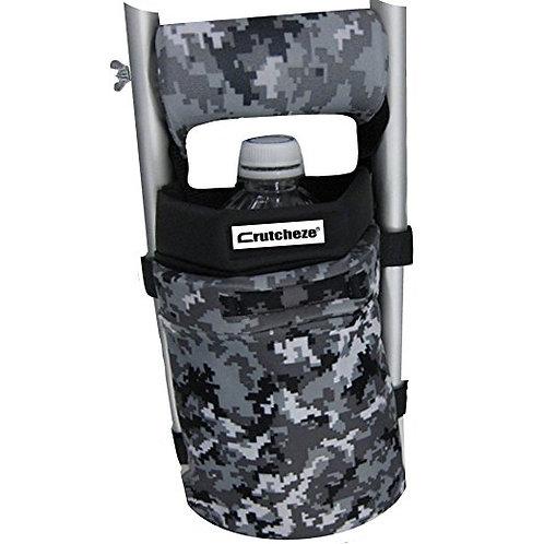 Digital Storm Camo Crutch Bag by Crutcheze