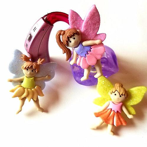 3 Fairies Tube Trinkets by Purple Cat Aid Charms