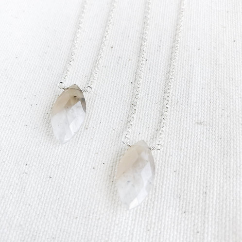 Bio Solar Quartz Essential Oil Diffuser Necklace by Essential Adornment