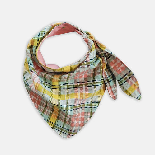 All-Ages Bib - Pink Plaid by Abilitee Adaptive Wear