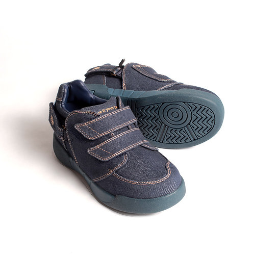 Aspire Kids Shoe - Denim Canvas: by Hatchbacks