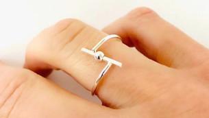 Bail Silver Fidget Ring