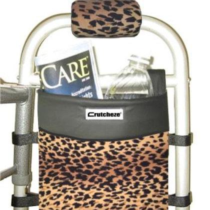 Leopard Walker Bag by Crutcheze