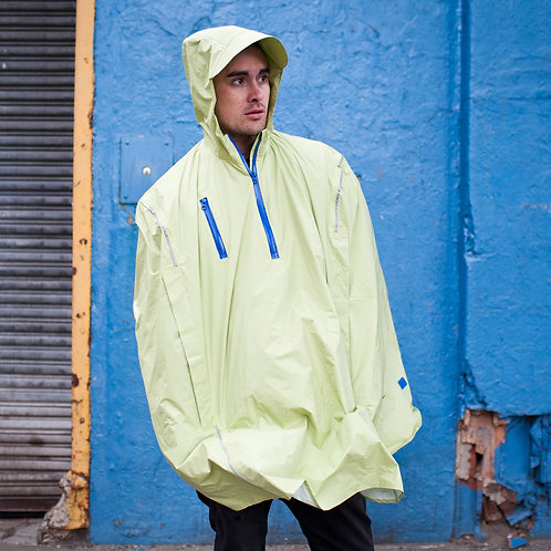 Seabee Yellow Rain Cape by Cleverhood