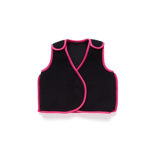 PunkinHug Compression Vest - Pink Trim by PunkinFutz