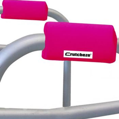 Hot Pink Walker Padded Handgrips by Crutcheze