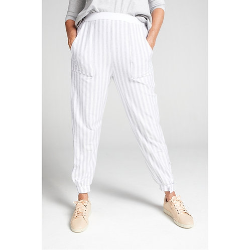 Tapered Track Pant with Adjustable Cuff by Christina Stephens