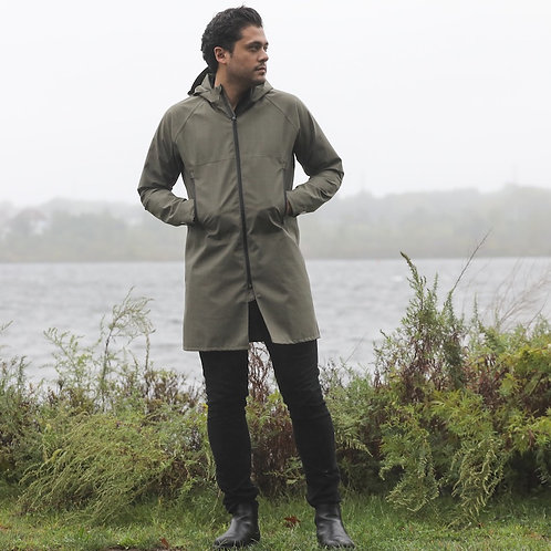 CleverTrench Rain Jacket by Cleverhood