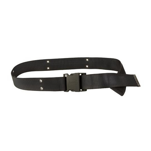 Black Rugged Nylon Velcro Belt by Myself Belts