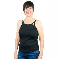 Cut Out Mastectomy Camisole