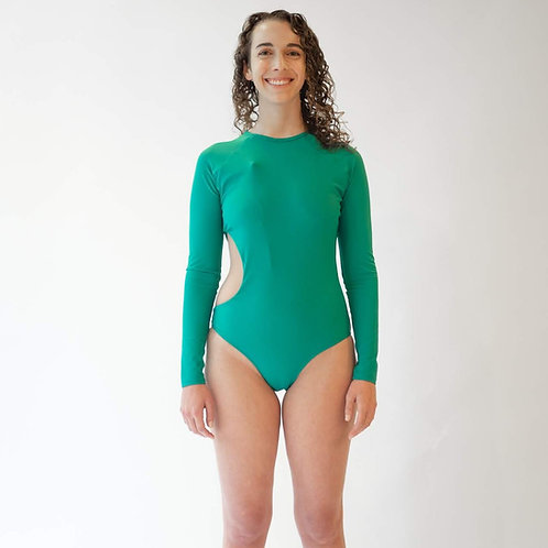 Anna Long Sleeve One-Piece Swimsuit by MIGA Swimwear