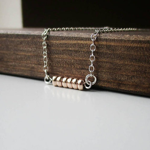 Tula Bar Fidget Necklace by Love, Dawne