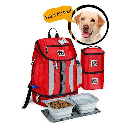 Week Away® Drop Bottom Backpack by Overland Dog Gear
