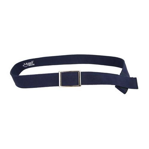 Navy Canvas Velcro Belt by Myself Belts