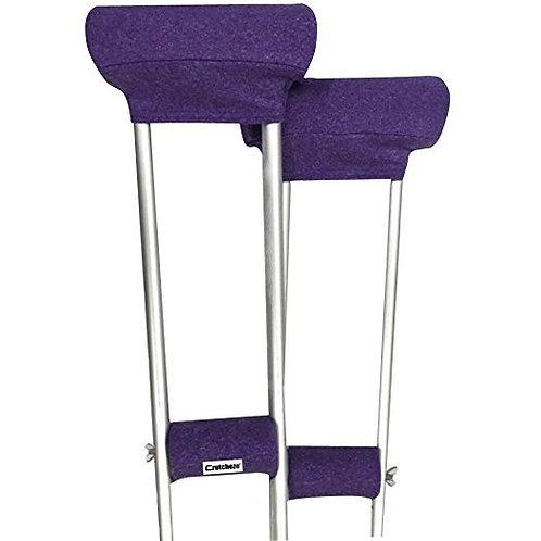 Purple Heather Padded Covers Set by Crutcheze