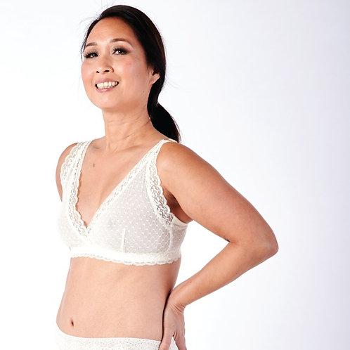 Susan Wrap Front Lace Bra by AnaOno