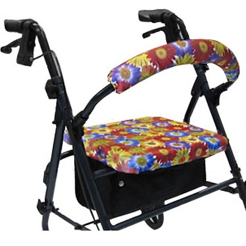 Daisy Bouquet Rollator Walker Covers Set by Crutcheze