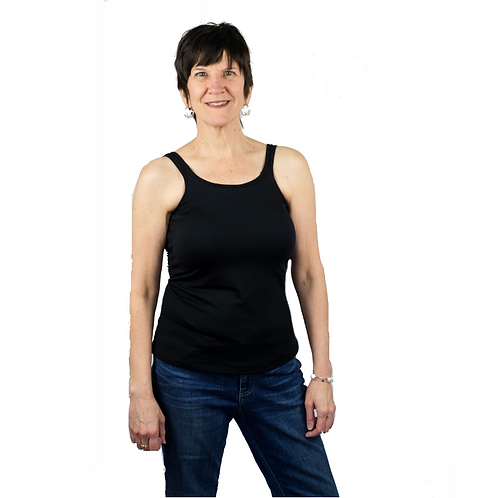 Classic Mastectomy Camisole with Built-In Breast Prosthetics by Complete Shaping