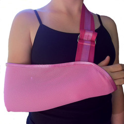 Pretty in Pink Arm Sling
