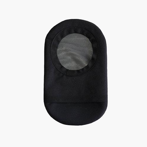 Black Ostomy Cover by Spoonie Threads