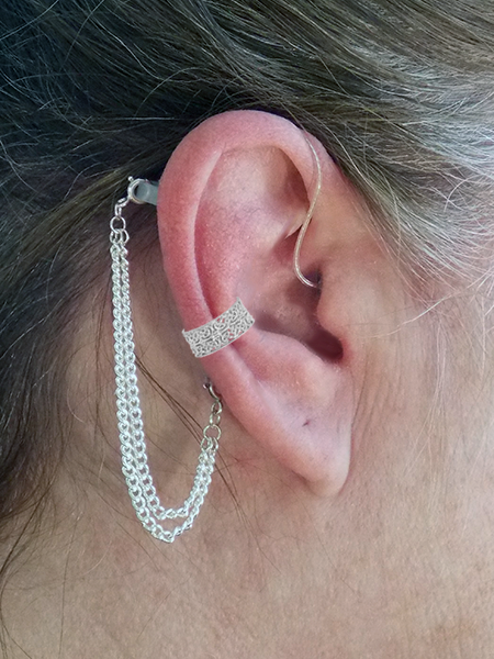 Hearing Aid Ear Cuffs