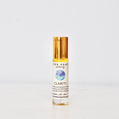 Clarity Essential Oil Roll On by Open Heart Apothecary