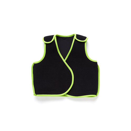 PunkinHug Compression Vest - Green Trim by PunkinFutz