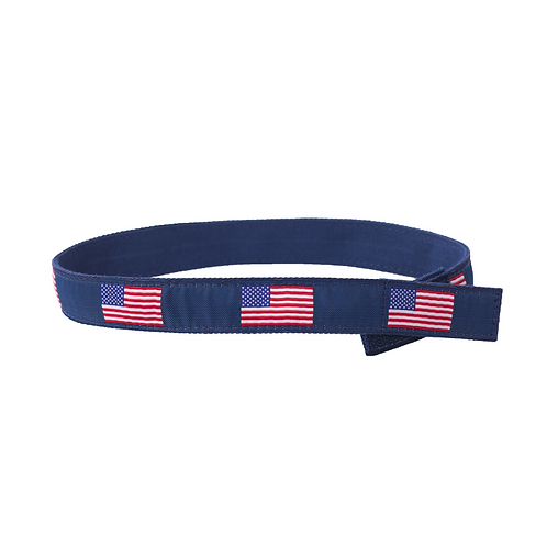 American Flag Velcro Belt by Myself Belts