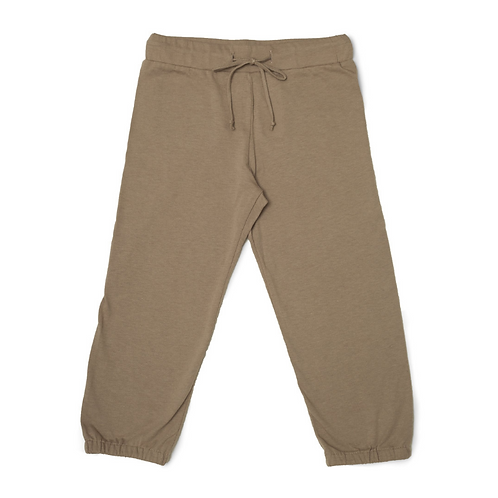 "Unisex Adaptive ""Learn to Dress"" Every Day Sweatpant - Tan by Me Do."
