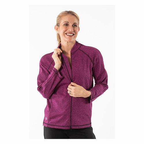 The Celine - Adaptive Post Surgery 3/4 Sleeve Jacket by Reboundwear