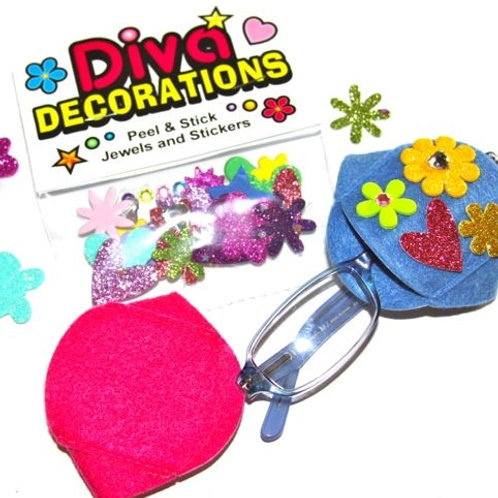 Diva Decorations with Eye Glass Patches by Patch Pals