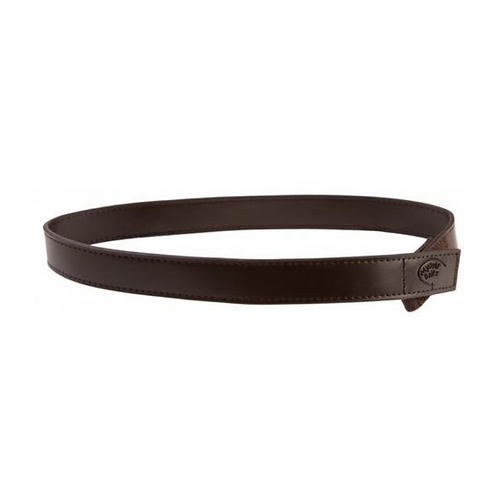 Brown Leather Velcro Belt by Myself Belts