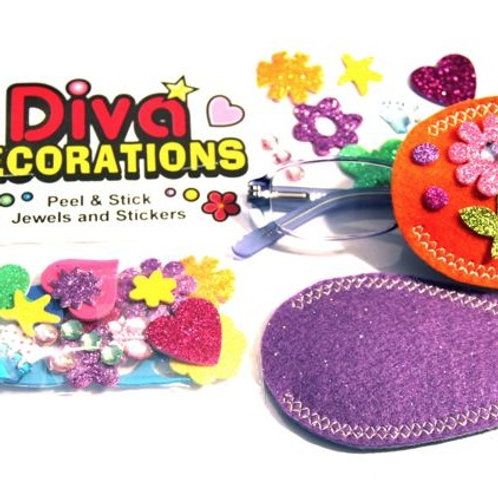 Diva Decorations with Pocket Patches by Patch Pals