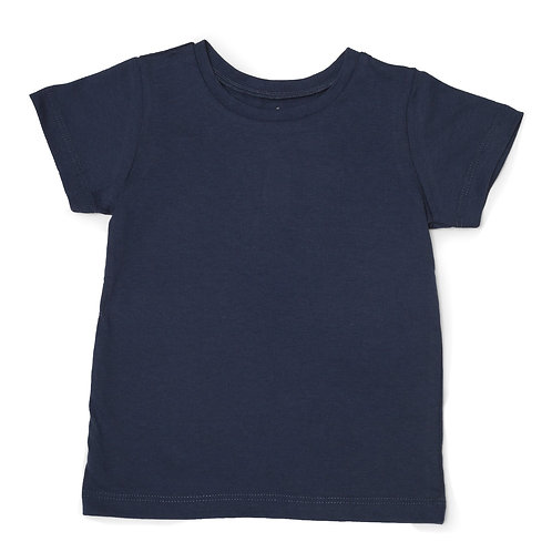 """Unisex Adaptive """"Learn to Dress"""" Every Day T-Shirt: Navy Blue by Me Do."""