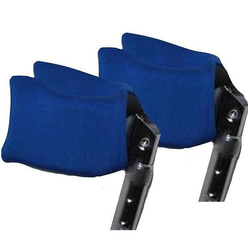 Royal Blue Forearm Crutch Pads by Crutcheze
