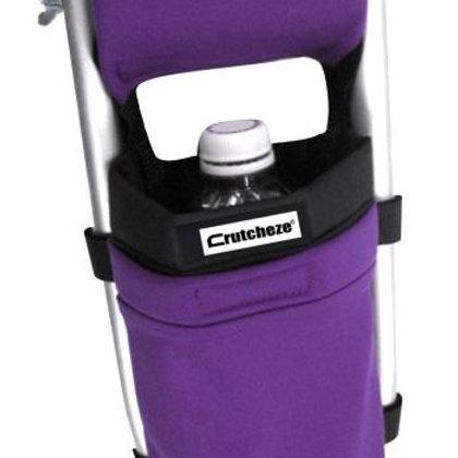 Deep Purple Crutch Bag by Crutcheze