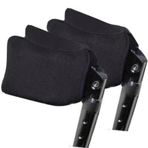 Black Forearm Crutch Pads by Crutcheze