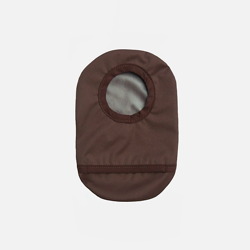 Brown Ostomy Cover by Spoonie Threads