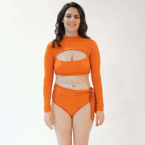 Lydia Adaptable Belt Bikini Swim Bottom by MIGA Swimwear